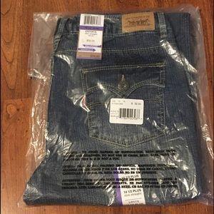 NWT Levi's Slim Straight Fit Jeans 14 1/2 Plus